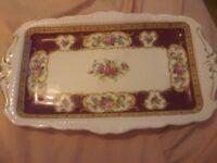Royal Albert Lady Hamilton Sandwich Plate