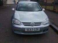 2008 Volkswagen Golf Petrol 1.6 FULL YEAR MOT Excellent Condition Throughout Great Runner Very Clean
