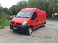 2008 Renault Master with 12 months MOT, not Ford Transit, Vauxhall Movano.