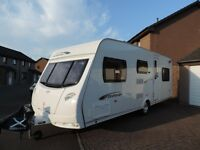 Lunar Quasar 546 family 6 Berth caravan with motor mover