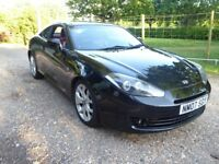 Hyundai Coupe S111 2.0SE in black, manual with red leather, FSH in good condition