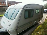 Eldiss 4 Berth Touring Caravan Top Spec