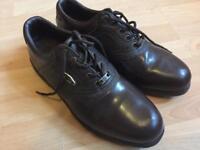 Dunlop Golf Shoes Brown Size 9.5uk