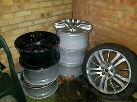 Variety of BMW & Range Rover alloy Wheels / Rims
