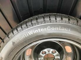 Set of 4 Continental 'ContiWinterContact' Tyres
