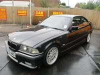 98 S BMW 328i SPORT COUPE AUTO CLUBSPORT M RARE CAR RED LEATHER FULL MOT LOVELY CON & DRIVE PX SWAPS