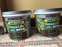 Ronseal fence improved colour forest green