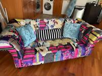 Chesterton patchwork sofa set x 2