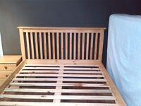 King Size Pine Bedframe