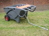 Trailer garden tipper