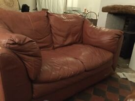 2 seater sofa free - collection only
