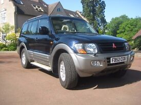 Mitsubishi Shogun 3.2 TD Equippe 5dr Automatic, MOT Dec 17, for sale or swap
