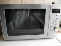 Tesco MTG06/MG208 Programmable 20L Combination Microwave Oven with Grill 800W (E) - Very Clean
