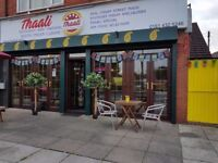 Full time and part time waiting staff required for a busy, vibrant Indian restaurant