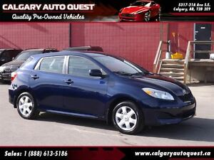 2009 Toyota Matrix XR AUTOMATIC / FINANCING AVAILABLE