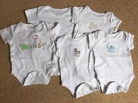 Short sleeve baby suits