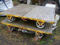 Railway wagan Permaquip type B rail trolly