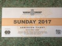 Goodwood festival of speed ticket for sale