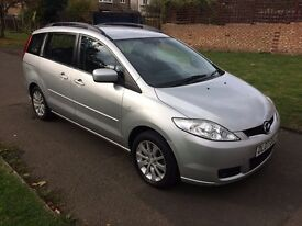 Mazda5 1.8 TS2 5dr, 6 MONTHS FREE WARRANTY, 7 SEATER, FULL SERVICE HISTORY