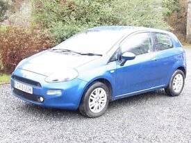 2013 Fiat Punto easy, 1.2 3 door, only 19000 miles, fsh, 1 previous owner, immaculate
