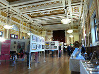 The Society of Eastbourne Artists Art Exhibition at Eastbourne Town Hall May Bank Holiday 2017