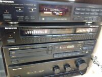 Pioneer Reference Amplifier A-777, Equalizer GR-777, Tuner F-550RDS, Twin CD Player PD-T510
