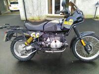 1992 bmw r100gs £3750