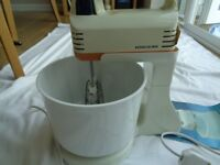 Vintage Kenwood Chef Mini Mixer With Stand And Bowl