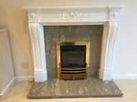 Kinder Gas Fire & Surround