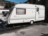 Bailey 2 berth caravan