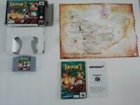 "Nintendo 64 Game (Good Condition) - Rayman 2 ""The Great Escape"""