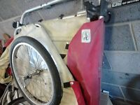FREE Burley bike trailer to transport up to 2 children.