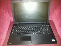 Untested Toshiba satellite c50 windows 8 laptop for spares or repairs