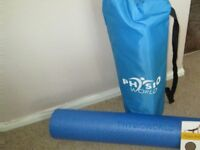 PILATES FOAM ROLLER & MAT(Reduced price!)
