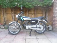 honda cg125 125cc ,classic 1977, fully serviced, 12 months mot ,many new parts