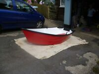 brand new7ft 6ins plywood dinghy tender