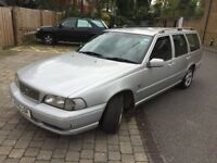 Volvo V70 Petrol, Estate, 2000, Auto, one owner, low mileage, good condition, MOT & Tax to Feb'18