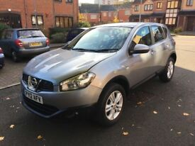 NISSAN QASHQAI DIESEL 2012.LOW MILEAGE 44000.FULL SERVICE HISTORY.CALL ME 07887611676