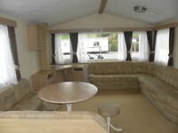 Cheep Static Caravan nr the Gower Gouble Glazed & Heated