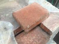 Reddish block paving 60mmx 32cmx24cm