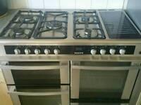 Leisure HJA 5100 Range cooker - Duel Fuel