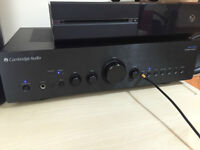 Cambridge Audio Azur 550 A amp black brushed front latest design!mint condition