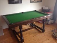 Riley Slate Snooker/Pool Table. Perfect for young beginner's