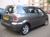 TOYOTA COROLLA VERSO NEW SHAPE 7 SEATER **** £1450 ONLY **** 5 DOOR HATCHBACK MPV