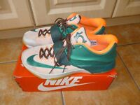 Nike KD (Kevin Durant) 7's Basketball low shoes size 12.5 worn inside twice only, VGC.