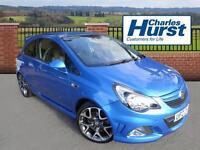 Vauxhall Corsa VXR (blue) 2014-08-20