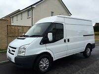 wot a van for someone! 2010 ford transit mwb over 5k of extras fsh only one of its kind