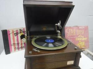 Columbia Grafonola Phonograph (Fully Working!) - We Buy and Sell Vintage Audio at Cash Pawn - 108470 - OR1015405