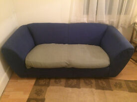 Blue Sofa !!£20!! MUST GO TODAY
