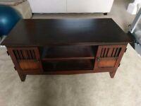 Solid wood tv stand table cabinet